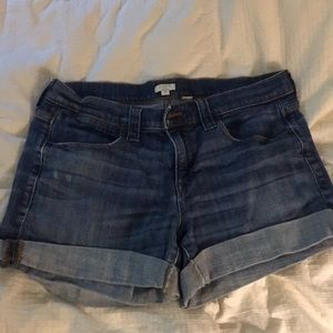 Adorable j crew jean shorts size 31